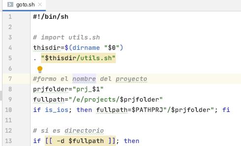 Bash: Qué es la primera linea comentada en todo archivo .sh?