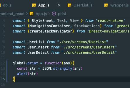 React - Crear funciones globales a nivel de proyecto sin tener que hacer import
