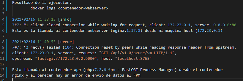 Nginx client closed connection while waiting for request