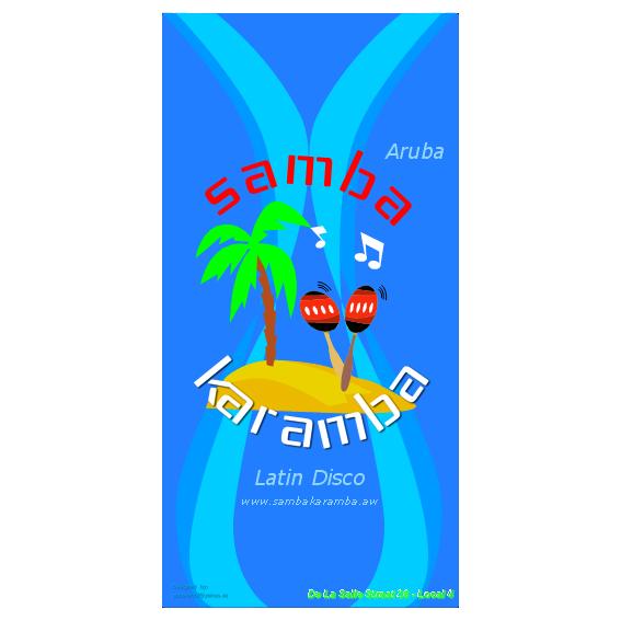 Carteleria y papeleria – Discoteca Samba Karamba